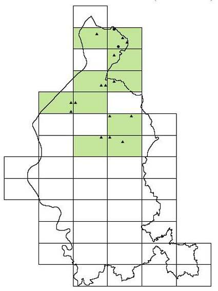 distribuzione del Picchio nero, Dryocopus martius