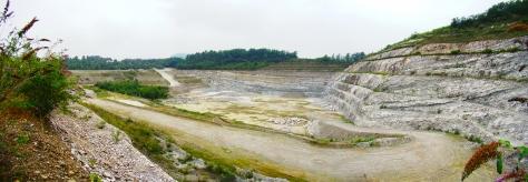 Figura 9: area D, ex-cava di Ternate. Foto di Enrico Giussani